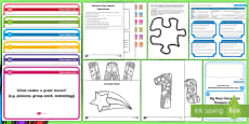 CfE Back to School First Level Activity Stations