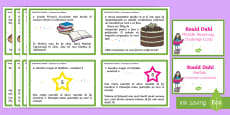 Matilda Reasoning Year 2 Challenge Cards English/Romanian