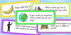 Creative Writing Prompt Question Cards