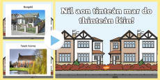 Types of Home Photo Display PowerPoint Gaeilge