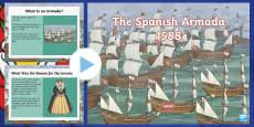 KS2 The Spanish Armada Information PowerPoint