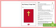 My Primary 3 Prayer Book