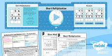 PlanIt Y3 Multiplication and Division Lesson Pack Multiplication (4)