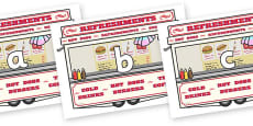 Phase 2 Phonemes on Fairground Food Vans