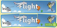 Flight Display Banner