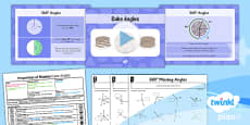 PlanIt Y5 Properties of Shapes Lesson Pack 360 degree Angles