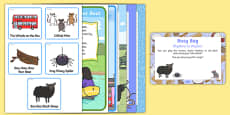 Rhythms to Rhymes Busy Bag Prompt Card and Resource Pack