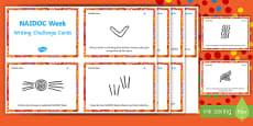 NAIDOC Week Writing Challenge Cards