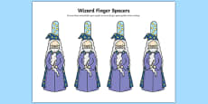 Writing Finger Spacers (Wizard)