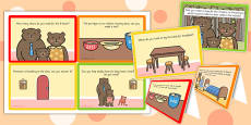 Goldilocks Role Play Challenge Cards