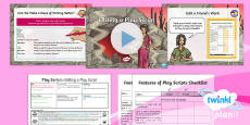 PlanIt Y3 Explorers: To Support Teaching on The Firework-Maker's Daughter  Lesson Pack  Play Scripts 4