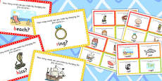 Initial Phoneme Manipulation Challenge Cards