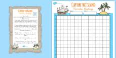 Australia - Coordinates and Perimeter Island Game