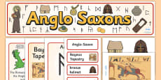 Anglo Saxons Display Pack