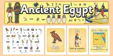 Ancient Egyptians Display Pack