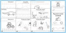 Pencil Control and Scissor Skill Resource Pack