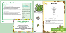 Plants and Growth Small World Play Idea and Printable Resource Pack