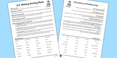 CV Activity Sheet Arabic Translation