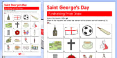 Elderly Care St. George's Day Fundraising Sheet