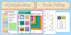 Times Tables Display Display Pack