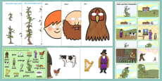 Jack and the Beanstalk Story Sack Resource Pack