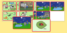 Story Sequencing Cards to Support Teaching on What the Ladybird Heard