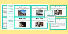 Guided Reading Skills Task Cards Main Idea