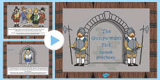 The Gunpowder Plot Information PowerPoint KS1 Polish Translation