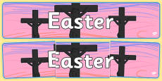 Easter Display Banner