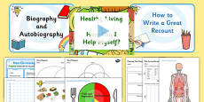 KS2 Ourselves Lesson Plan Ideas and Resources Pack