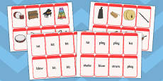 Musical Instrument Flashcards (Match the Action)