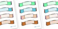 Editable Self Registration Labels (Wooly Scarfs)