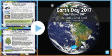 Earth Day Information PowerPoint English/Polish