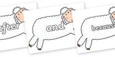 Connectives on Hullabaloo Sheep to Support Teaching on Farmyard Hullabaloo