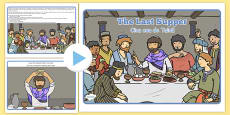 The Last Supper Story PowerPoint Romanian Translation