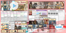 PlanIt - History LKS2 - Crime and Punishment Unit Pack