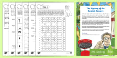 UKS2 The Summer Mystery of the Burgled Bangers Maths Game