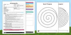 Spiral Worms EYFS Adult Input Plan and Resource Pack