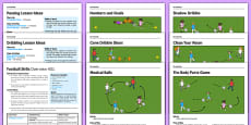 KS1 Football Skills Pack