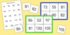 Bingo and Lotto Game 50-120