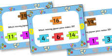 Number Bonds To Twenty Jigsaw PowerPoint
