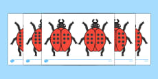 Ladybird Cut-Outs with Spots (11-20)