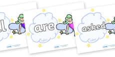 Tricky Words on Fairies (Multicolour)