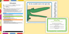 EYFS Crocodile Teeth Number Order Busy Bag Plan and Resource Pack to Support Teaching on The Enormous Crocodile