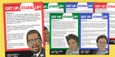 Get Up; Stand Up Display Posters