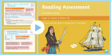 Year 6 Reading Assessment Fiction Term 2 Guided Lesson PowerPoint