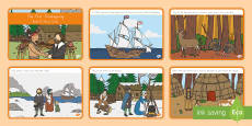The First Thanksgiving Read It Story Cards