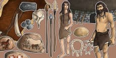 Stone Age Large Display Cut Out Pack