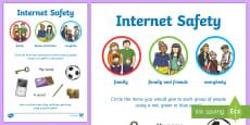 Internet Safety Privacy Activity Sheet