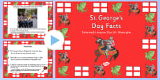 St George\'s Day Information PowerPoint Romanian Translation